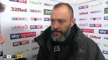 Nuno proud of players commitment
