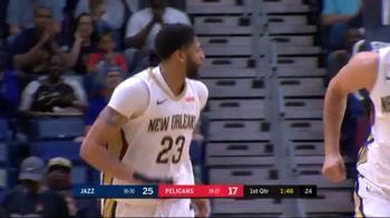 NBA, tripla doppia con 10 stoppate per Anthony Davis