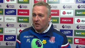 Lambert: We deserved a point