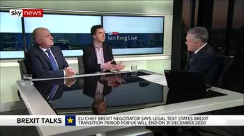 Business groups react to Brexit transition