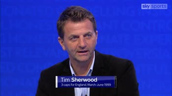 Sherwood 'enthused' by England performance