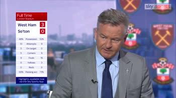 Nicholas: It was all West Ham