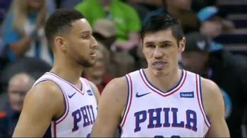 NBA Highlight: Charlotte Hornets-Philadelphia 76ers 102-119