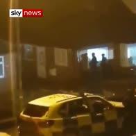Moment of Dewsbury terror raid