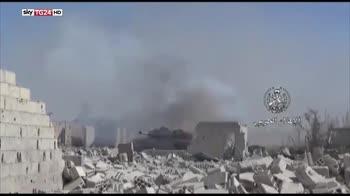 Guerra in Siria, sospetto attacco chimico a Douma