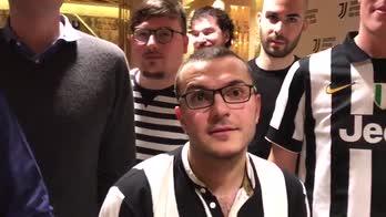 Real Madrid-Juventus, fan club bianconero