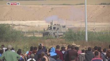 Gaza, ancora violenze, 1 morto e 700 feriti