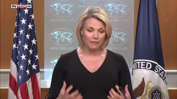 Guerra in Siria, Nauert, stiamo verificando armi chimiche usate