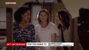 Top on demand, i programmi più scaricati dagli abbonati Sky