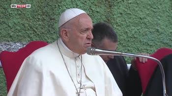 Il Papa la Corviale, Francesco incontra i ragazzi della catechesi