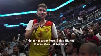 NBA, l'amore del popolo argentino verso Manu Ginobili