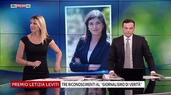 Graldi presenta premio Letizia Leviti