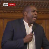 David Lammy: 'We want reparation!'