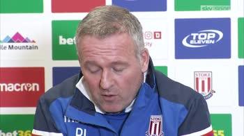 Stoke boss Paul Lambert sets survival target