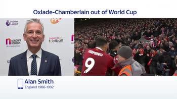 'England will miss Oxlade-Chamberlain'