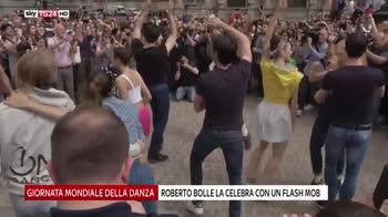 Giornata mondiale della danza, flash mob di Bolle