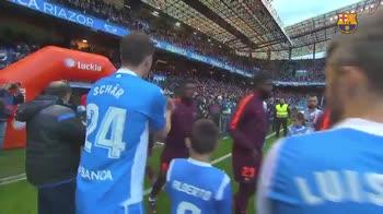 Copa del Rey vinta, il Depor omaggia il Barça con il pasill