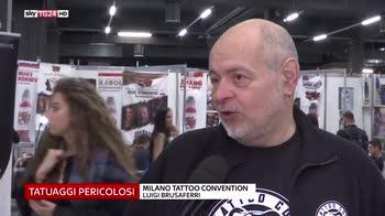 Tatuaggi, rischi degli inchiostri per la salute