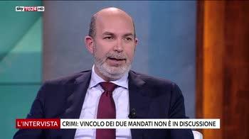 L'intervista di Maria Latella, ospite Vito Crimi