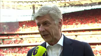 Wenger: It's been a love story