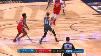 NBA, una tripla di Steph Curry in gara-4 contro i Pelicans