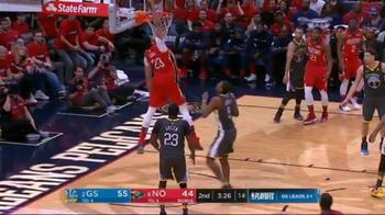 NBA, Anthony Davis conclude in alley oop in gara-4 vs. GSW