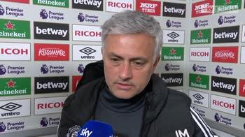 Mourinho happy with draw