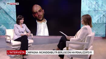 Mara Carfanga ospite de L'intervista di Maria Latella
