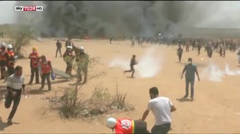 Gaza, uccisi oltre 50 manifestanti palestinesi