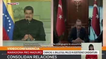 Deportation bus e gli endorsement per Maduro