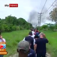 Passenger jet tragedy in Havana