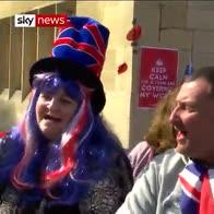 Royal wedding fever grips Windsor