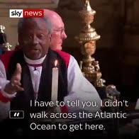 Royal reactions to THAT sermon