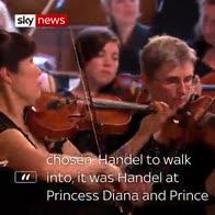Teen cellist 'wasn't nervous' about wedding