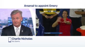 Nicholas: Emery has edge over Arteta