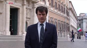 Vertice alla Camera tra Conte, Salvini, Di Maio