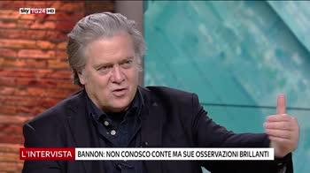 Maria Latella intervista Steve Bannon