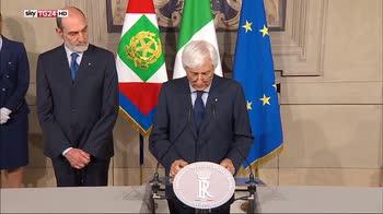 ERROR! Quirinale: Giuseppe Conte ha rimesso il mandato