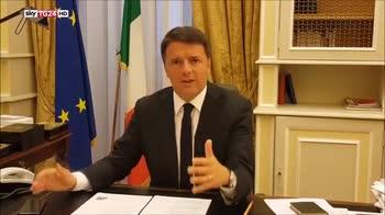 ERROR! Renzi esorta alla mobilitazione contro gli antieuropeisti