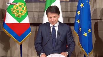 Conte annuncia composizione governo