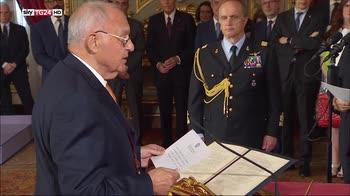 Governo Conte, il giuramento di Savona