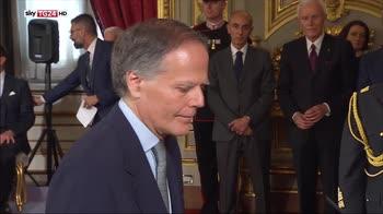 Governo Conte, il giuramento di Milanesi
