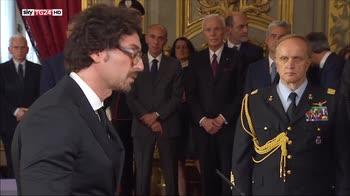 Governo Conte, il giuramento di Toninelli