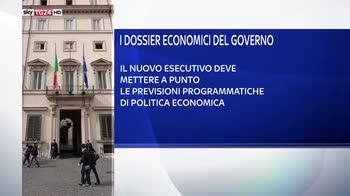 Governo M5S Lega, tutti i dossier economici