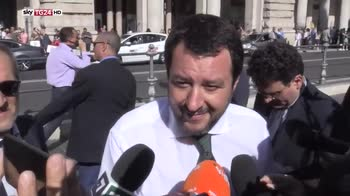 Primo consiglio dei ministri a Palazzo Chigi
