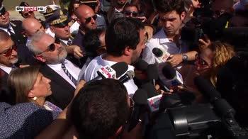 """Salvini: """"Dalla Tunisia non proprio gentiluomini"""""""