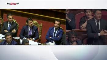 Senato, intervento Renzi