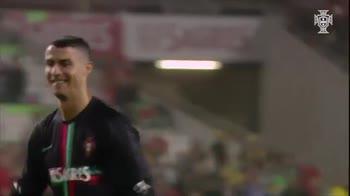 Che show del figlio di CR7 dopo Portogallo-Algeria