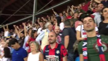 Cosenza in Serie B: il boato dell'Adriatico al 3-1 di Bacle