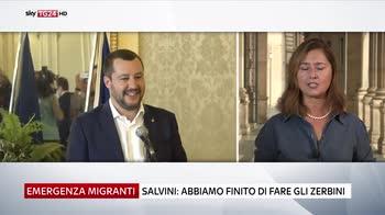 Aquarius, Salvini-Renzi